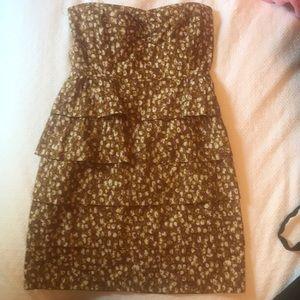 JCrew cute strapless dress